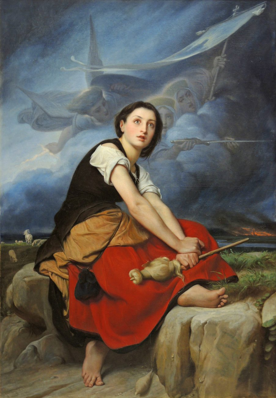 Joan of Arc Listening To Her Voices