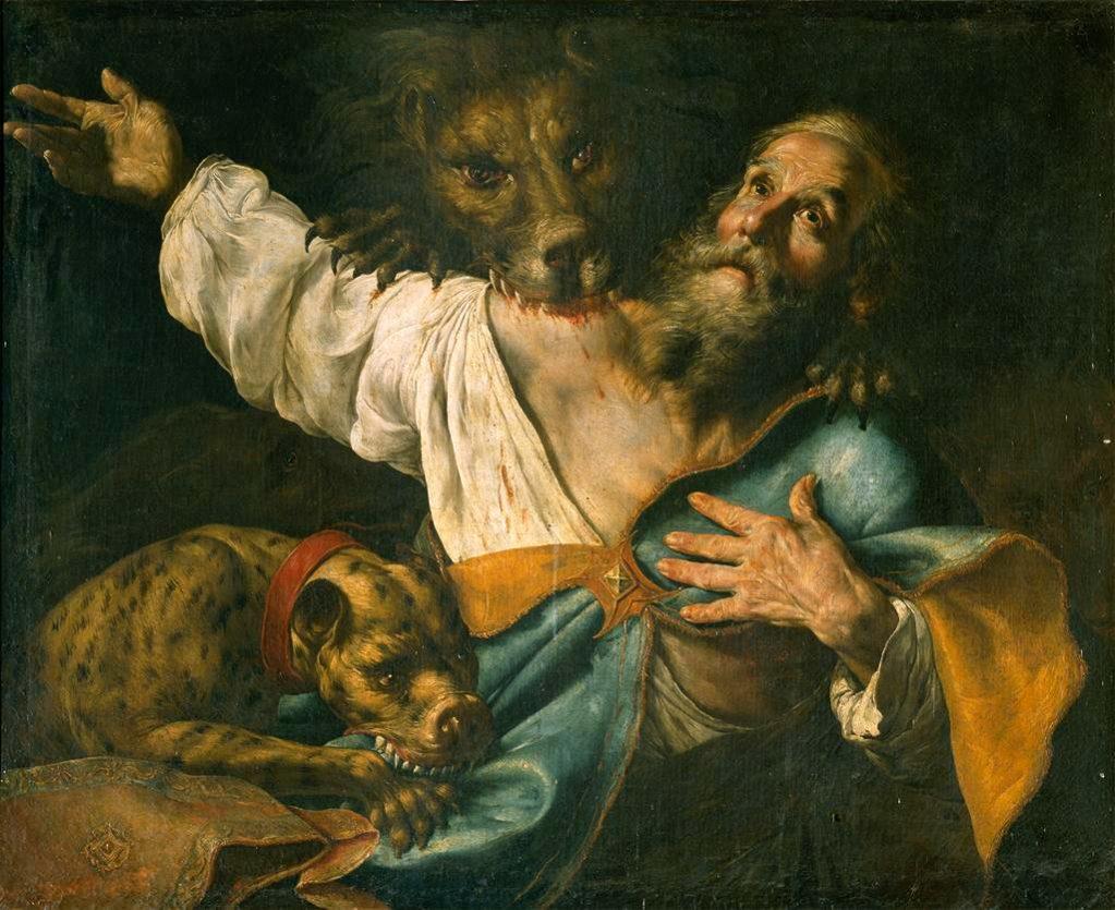 St. Ignatius Of Antioch, Cesare Fracanzano
