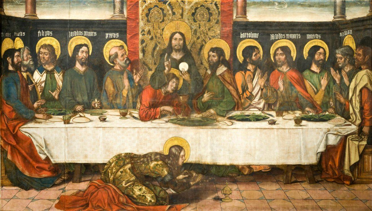 The Last Supper by Pedro Berruguete