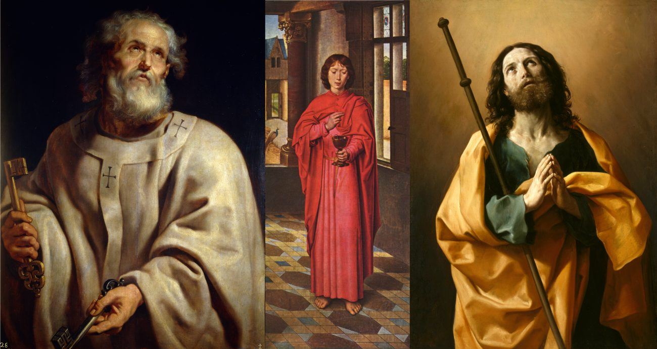 The Three Pillars of the Church - Saints Peter, John and James