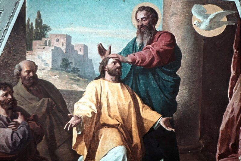 St. Paul Ordaining St. Timothy