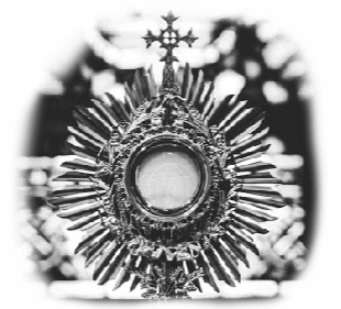 blessed sacrament monstrance