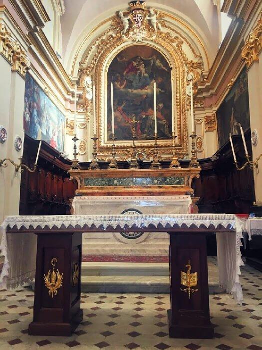The church of St. Publius in Malta.