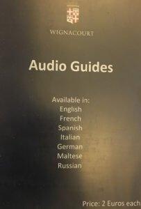 Wignacourt Museum audio guides