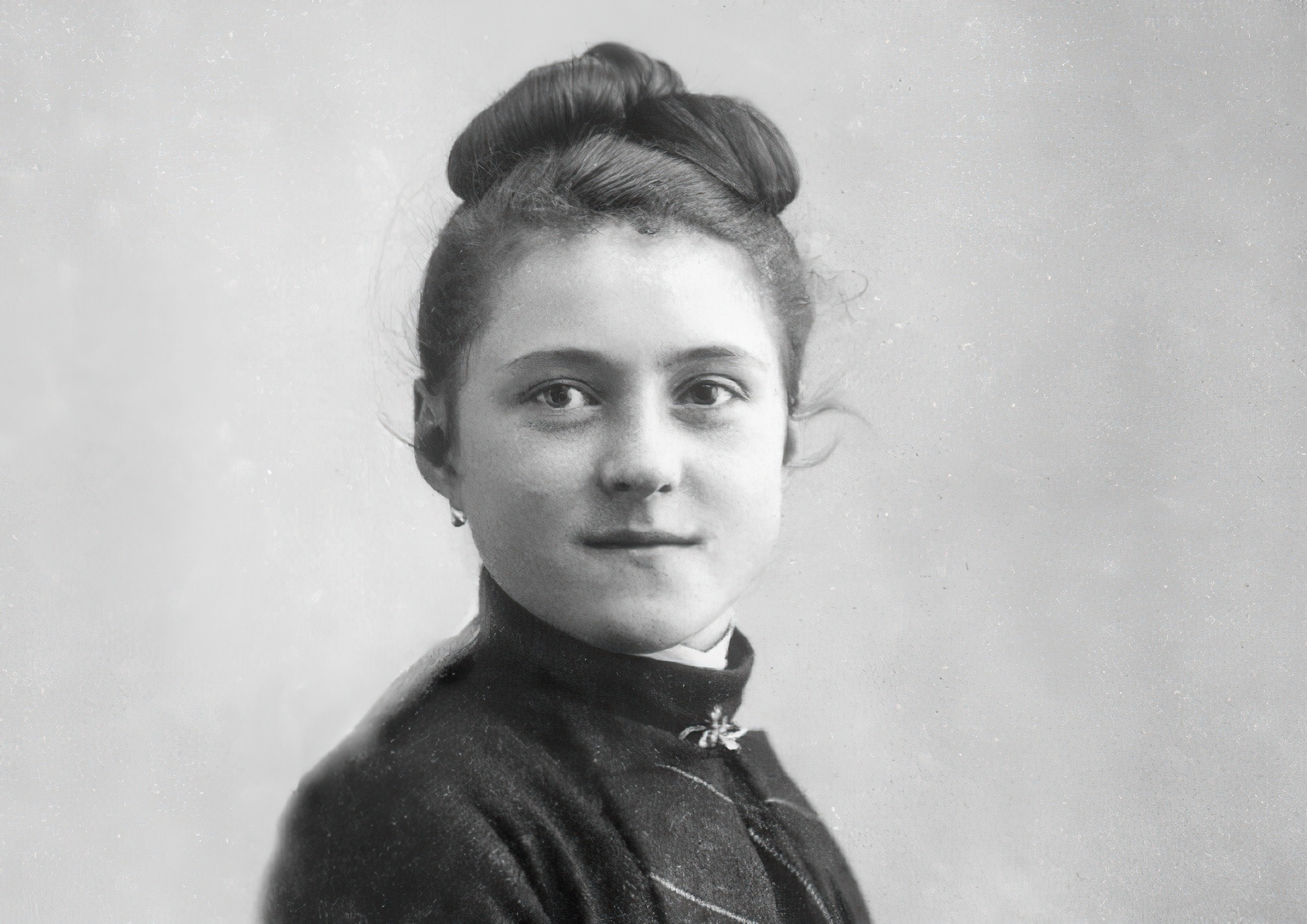 St. Thérèse of Lisieux at 15 years old