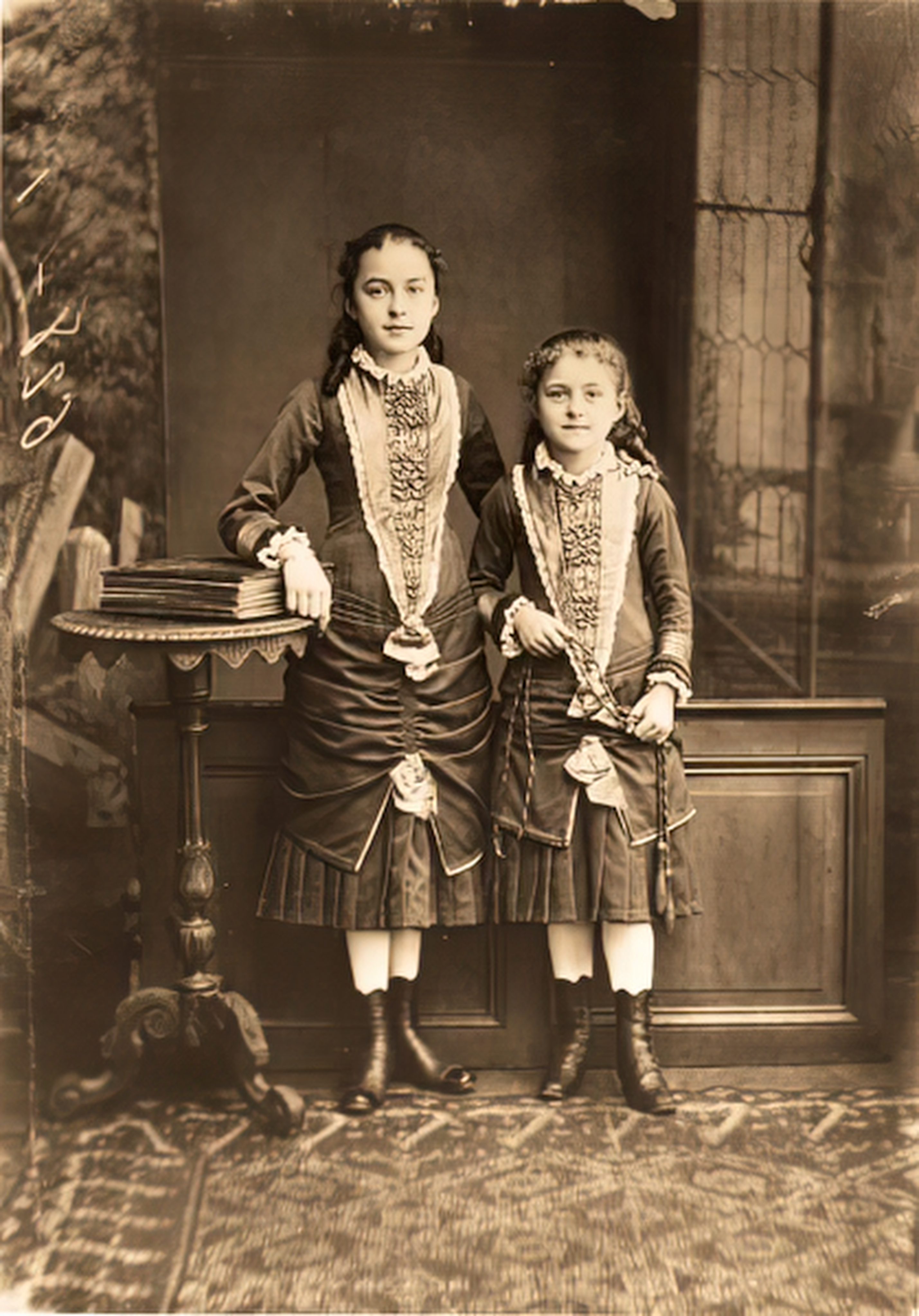 St. Thérèse of Lisieux as a child in 1881
