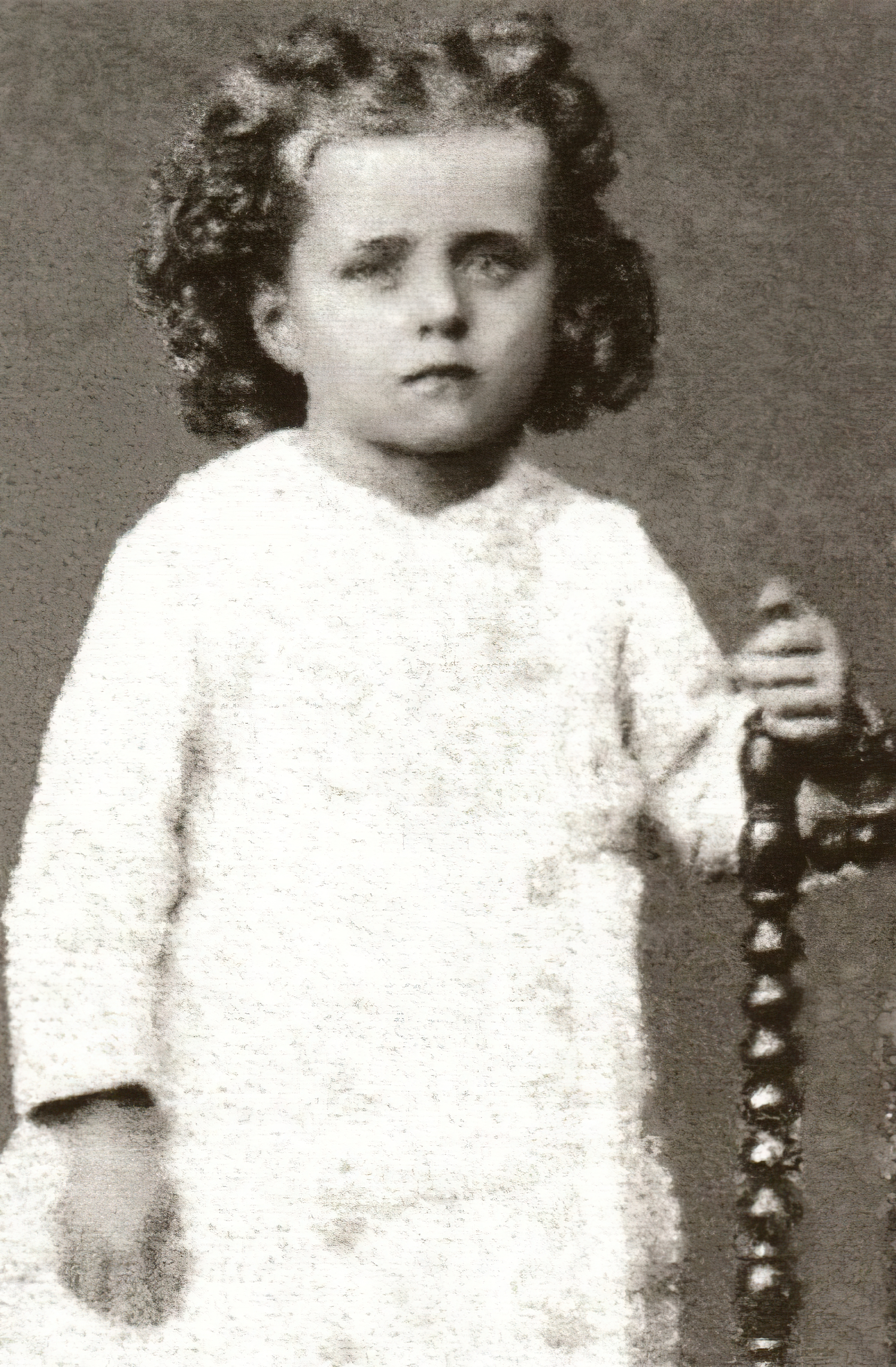 St. Thérèse as a 3 years old